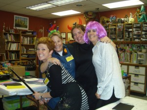 The Art Adventures Ladies on Halloween